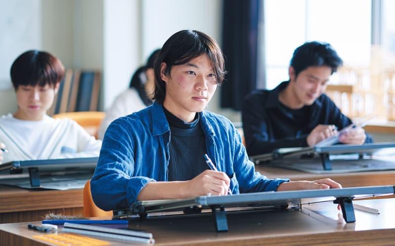 伝統建築学科 大学併修コース