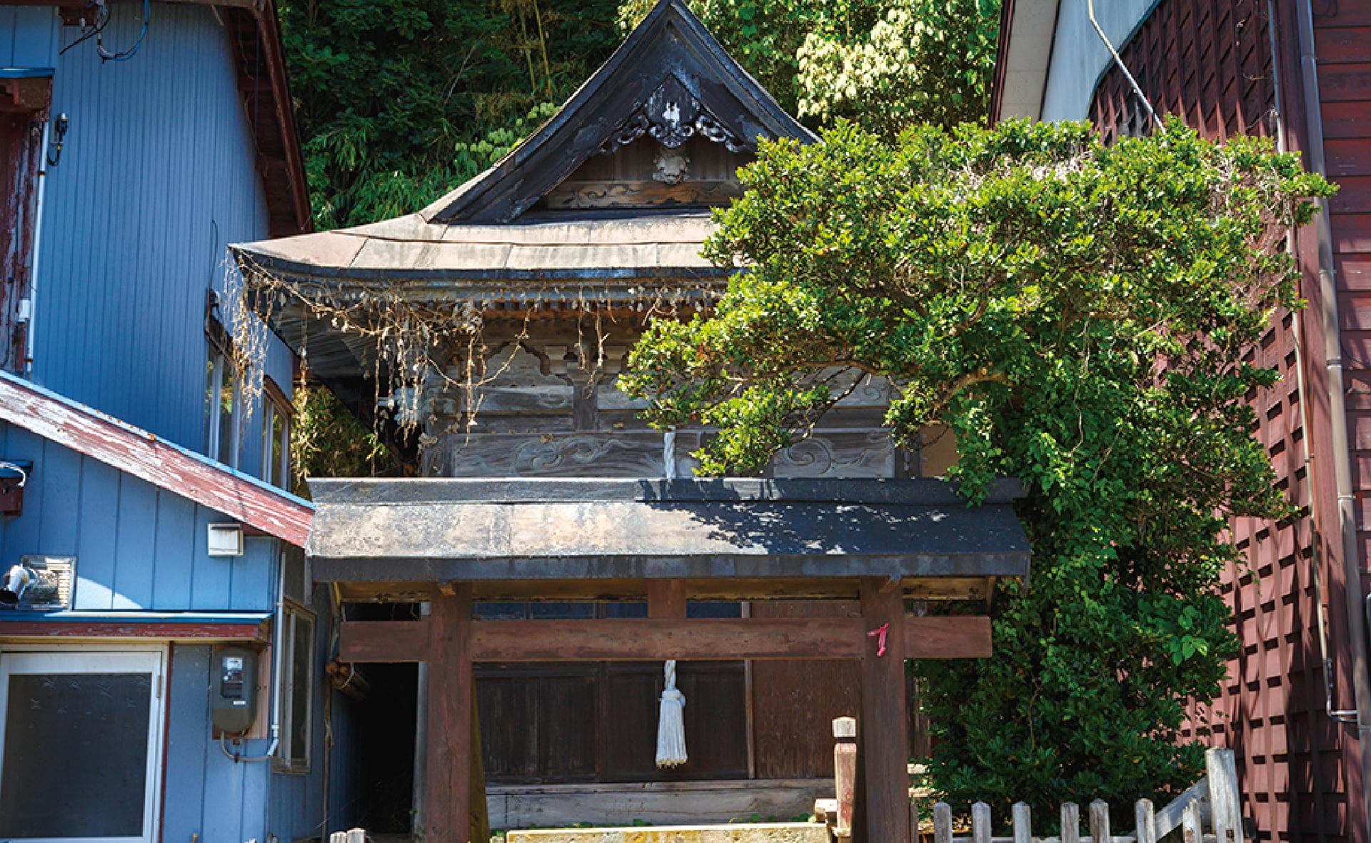 『事比羅(二見)神社』改築工事