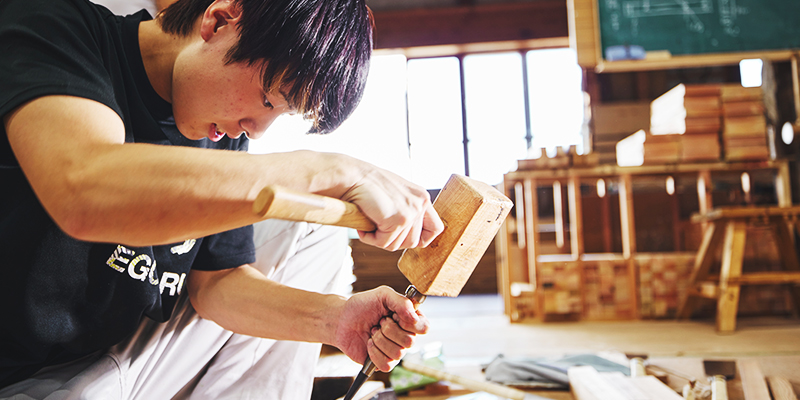 卒業後0年で二級建築士を受験可能!